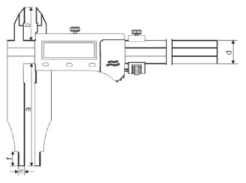 Dijital Kumpas ABS IP66 Dış - Yamer