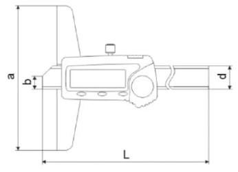 Dijital Derinlik Kumpası ABS IP67 - Yamer