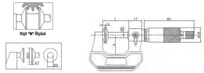 Disk Çeneli Mikrometreler - Yamer