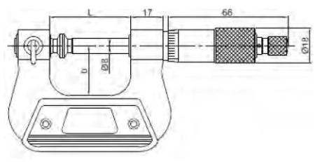 Değiştirilebilir Uçlu Üniversal Mikrometreler - Yamer