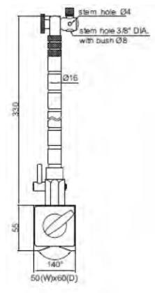 Fleksibil Manyetik Stand - Yamer