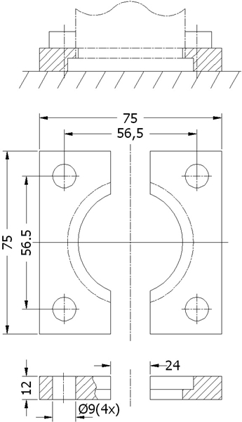 D100.50.01_00750 GAZLI YAY BAĞLAMA PAPUCU-DELTA
