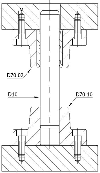 D70.02 BRONZLU DÖKÜM BLOK -DELTA
