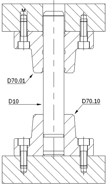 D70.011 DÖKÜM SET-DELTA