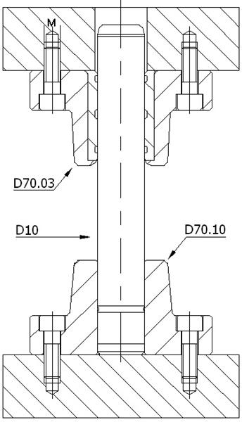D70.031 ÇELİK KAYMALI DÖKÜM SET -DELTA