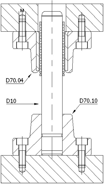 D70.041 BİLYALI DÖKÜM SET-DELTA