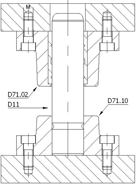 D71.02 BRONZLU DÖKÜM BLOK-DELTA