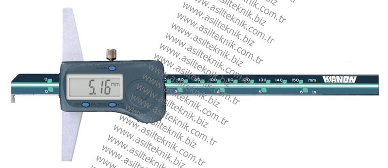 Dijital Derinlik Kumpası KANON Kanca Modeli 171-xxx