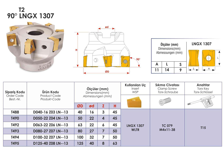 Tarama Başlığı LNGX-1307