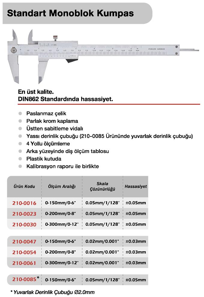 Standart Monoblok Kumpas - Werka