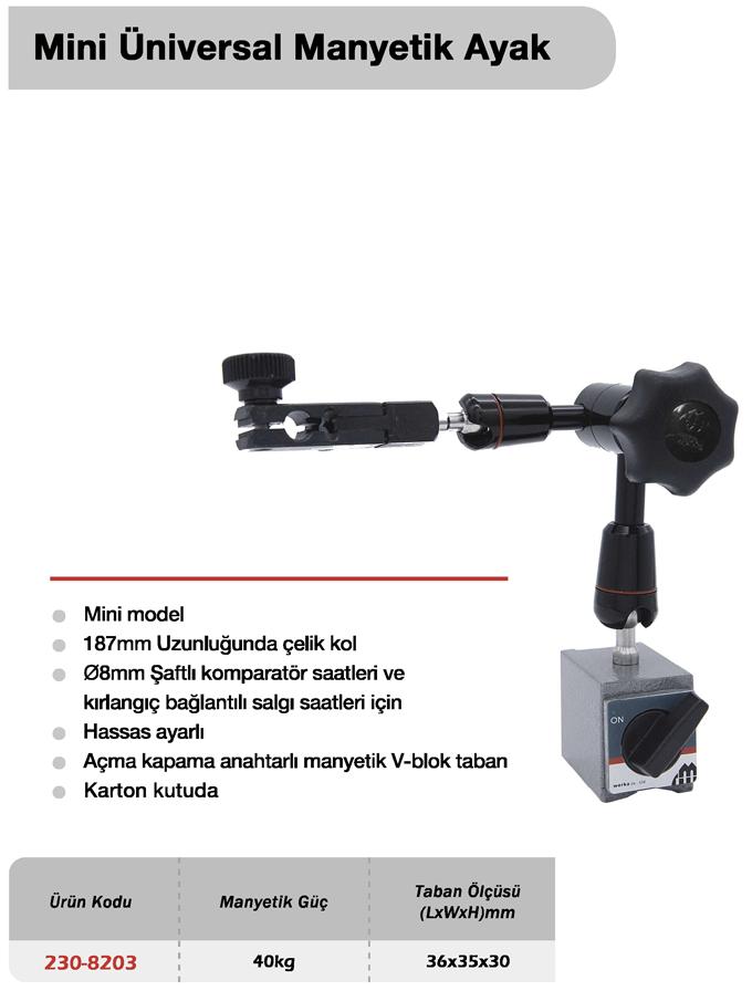 Mini Üniversal Manyetik Ayak - Werka