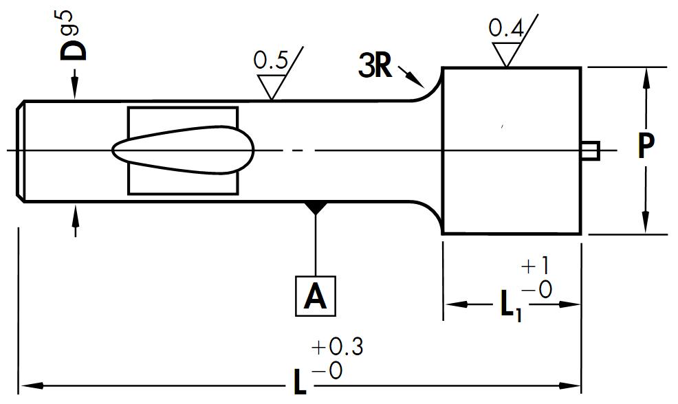 Geniş Uçlu Fırlatıcılı Bilyalı Zımba - Hafif Tip